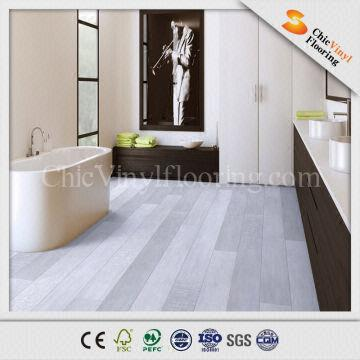 China Best price marble click vinyl floor tile standard size -Eco friendly  PVC material -