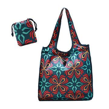 48e1d1fb03e China Custom Wholesale Reusable Waterproof Foldable Nylon drawstring Shopping  Bags grocery bags ...