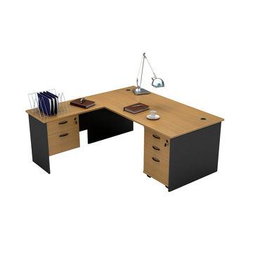 China Bow Front Office Desk From Liuzhou Wholesaler Guangxi