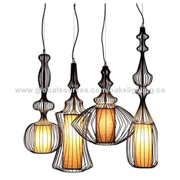 Metal cage pendant light global sources china metal cage pendant light mozeypictures Choice Image