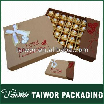 Chocolate Packaging Box Design Templates China