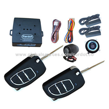 Passive keyless entry & push button start/stop system with hopping ...