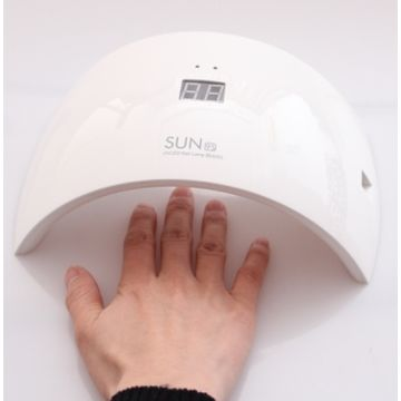 China Digital Nail Lamp, 24W Manicure Tool LED Photo-therapy Nail Gel Lamp