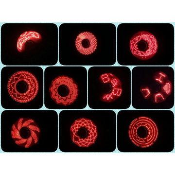 China LED Text Fidget Spinner