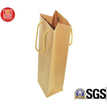 China Cheap Recycled Eco-friendly Plain Kraft Paper Bag
