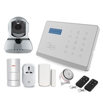 Smart Android/IOS APP control home alarm system
