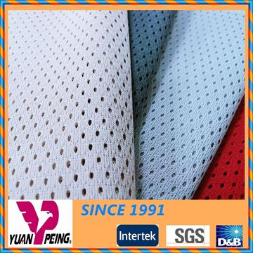 Heat-Resistant Breathable Polyester Knitted Mesh Fabric