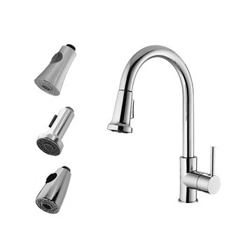 One Handle Pull Down Kitchen Faucet China One Handle Pull Down Kitchen  Faucet