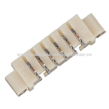 China 1.25mm pitch wire to board connector, PA9T(UL94V-0), MOLEX Replacement