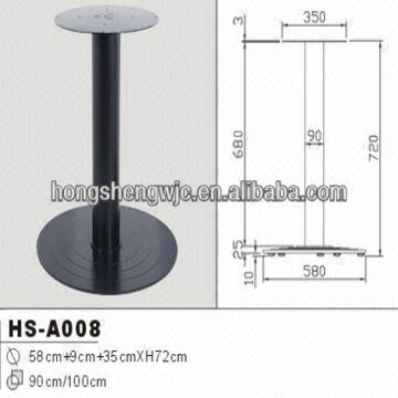 modern dining coffee table base metal