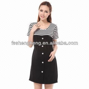 China Office Working Maternity Dress Garment Clothing Nursing Clothes Bk059