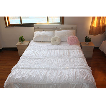 Duvet Set Measures 250 X 260cm Made Of Cotton With Embroidered