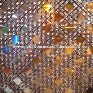 Flat wire mesh