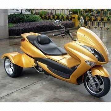 China 250cc Motorcycle Trike With Automatic Transmission Measures 2 300 X 1 200 030mm