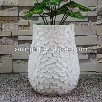 China Flower Surface Vase Decorative Indoor Resin Plant Pots