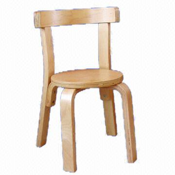 ... China Knock Down And Stackable Birch Bent Wood Chair