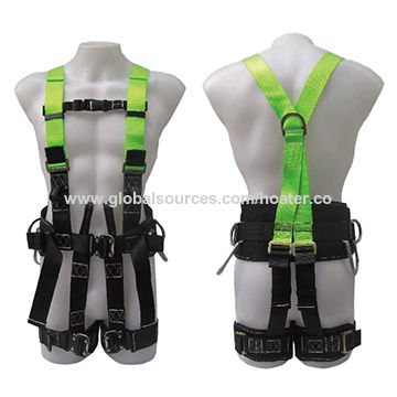 Full safety harness with 3 D-rings and 9 points | Global Sources
