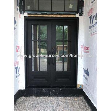 China Beautiful Iron Single Door Surper Quality For From Xiamen