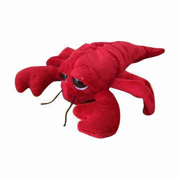 Cartoon Plush Toy Lobster With Big Eyes Global Sources