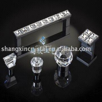 China Diamond Set Furniture And Handle Crystal Kitchen Cabinet Door S