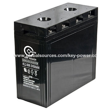 China 2V 800Ah Long Lift Time Lead Acid Battery From Shenzhen