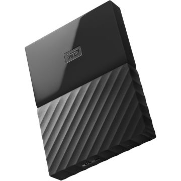 Black WD My Passport 1TB External USB 3.0 Portable Hard Drive
