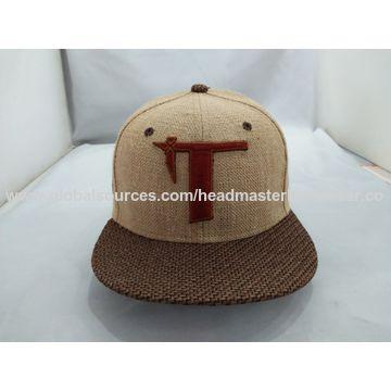 China 6 panel custom hemp hat from Dongguan Trading Company ... b598225d19a9