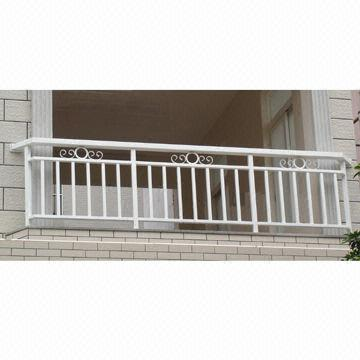 Balcony Railings Beautiful And Elegant Simple Wrought Iron
