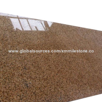 Yellow Granite New G682 Tiles in Pure Color, Suitable for Floor ...