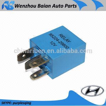 Hyundai 95224-29800 12V 4P hyundai spare parts 12 volt relay