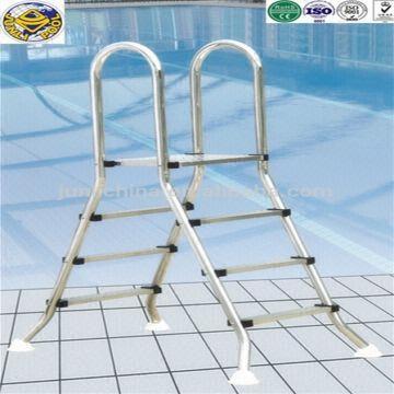 Fine Plastic Swimming Pool Folding Step Ladder Global Sources Creativecarmelina Interior Chair Design Creativecarmelinacom