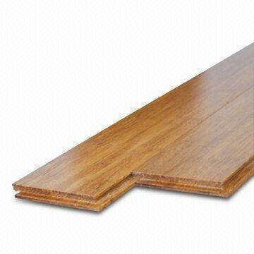 Click Lock Strand Woven Bamboo Flooring With Click System