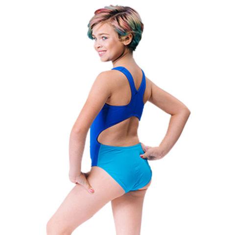 11e9453647547 China Girls performance swim Xtra life Lycra, wide Y-back swimsuit ...