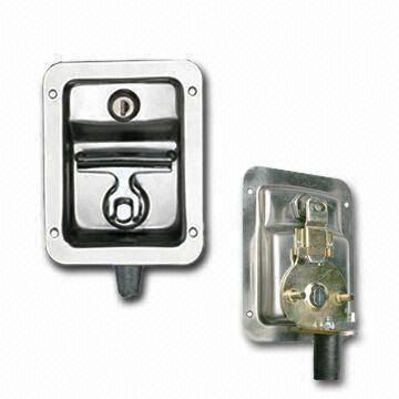 China Folding T Handle Latch With Grip Cabinet Lock