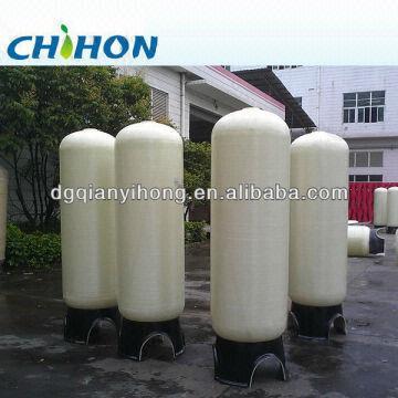 Fiberglass Water Filter Tank & Plastic Water Tank