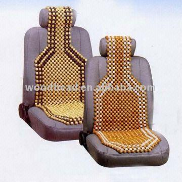 China Wooden Bead Car Seat Covers Summer Cooling Cushions LXC 012B