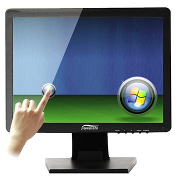 China 15 Inch Desktop Monitor Pc Computer Touch Screen Display