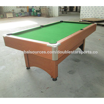 China Ft Big Human MDF Pool Table From Guangzhou Manufacturer - Human pool table