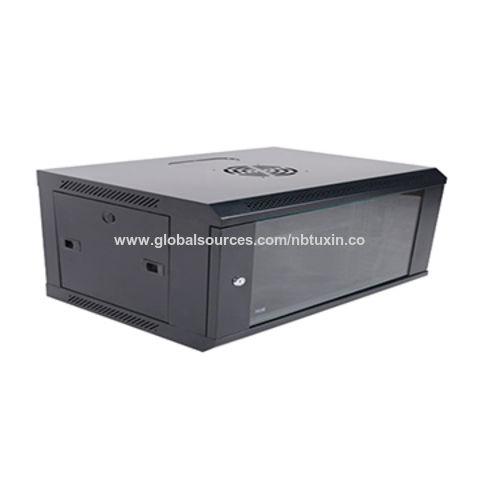 China 19-inch rack wall mounted server cabinet, 4U server