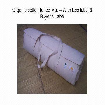 India Organic Cotton Certified Futon Shiatsu Mat