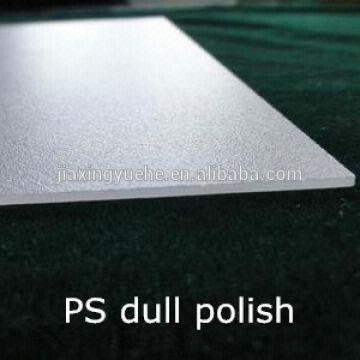 Ps fluorescent light diffuser sheet transparent polystyrene ps sheet