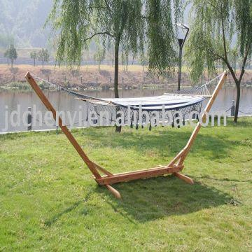 china wooden hammock stand size 300x120x130cm material solid wood and 100 cotton fabric wooden hammock stand size 300x120x130cm material solid wood and      rh   globalsources