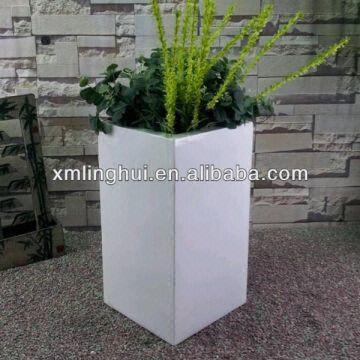 Small Fiberglass Decorative Indoor Plant Pots China Small Fiberglass  Decorative Indoor Plant Pots