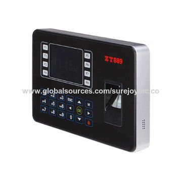 China Fingerprint time recorder, Colored Screen, Touch Key, RS485