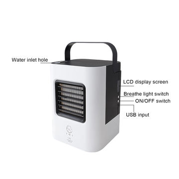 ... China Mini Air Conditioner Desk Spray Misting USB Fan With Handheld  Design For Home/ ...