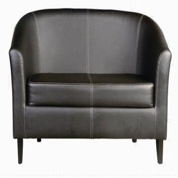 China Three Seater Sofa Living Room Pu Pvc Leather Arm Chair Two