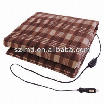 China Heating Car Blanket Health Care Thermal Electric Heated Travel Bl