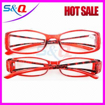a1b78c7430 ... China Fashion Plastic Reading Glasses slim reader Glasses colorful  Pouch Reading Glasses