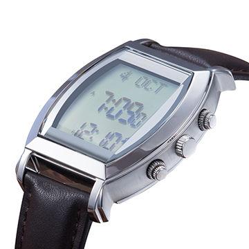 Islamic Azan alarm watch automatic Qibla compass prayer
