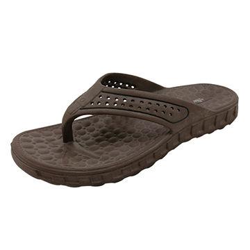 530b8e3c6a87 China 2018 thong Flip Flop PVC Strap rubber EVA Sole Men Slippers ...
